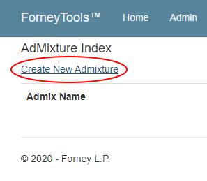 Admixtures1