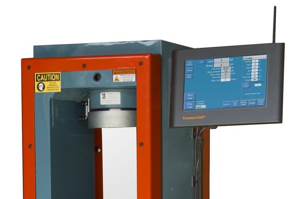ForneyLink touchscreen HMI